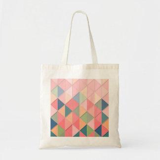 Tote Bag Les couleurs pastel de CUBISME GÉOMÉTRIQUES -