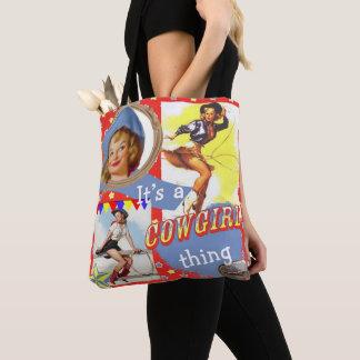 Tote Bag Les filles occidentales vintages c'est une chose