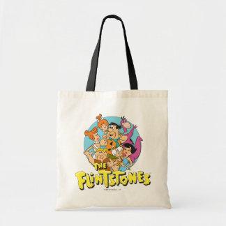 Tote Bag Les Flintstones et le graphique de famille de