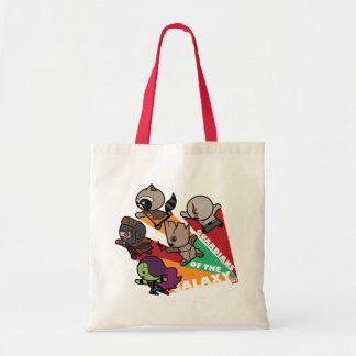 Tote Bag Les gardiens de Kawaii du groupe de galaxie