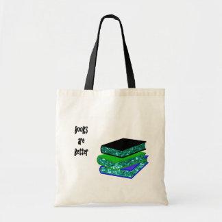 Tote Bag Les livres sont meilleurs