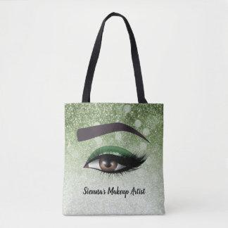 Tote Bag Les mèches fascinantes vertes observe le