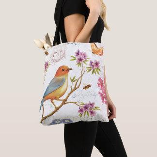 Tote Bag Les oiseaux et les abeilles