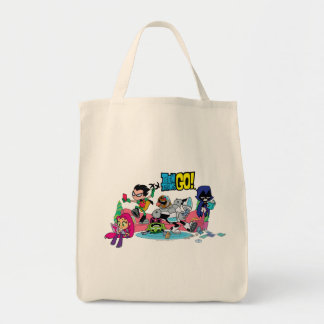 Tote Bag Les titans de l'adolescence vont ! approches