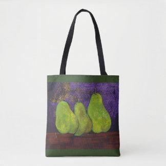 Tote Bag Les trois PearsClassic Fourre-tout