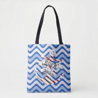 Tote Bag L'espoir ancre l'âme