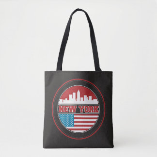 Tote Bag L'horizon | Etats-Unis de New York diminuent