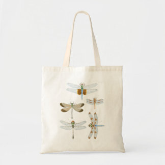 Tote Bag Libellules vintages