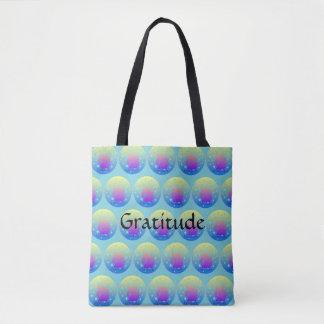 Tote Bag Licorne d'Ombre avec gratitude de mot