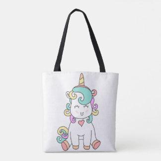 Tote Bag Licorne Fourre-tout de bébé