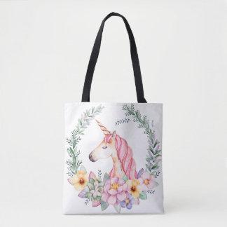 Tote Bag Licorne magique Fourre-tout