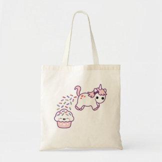 Tote Bag Licorne rose de Pooping