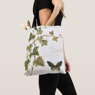 Tote Bag Lierres et papillons