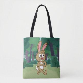Tote Bag Lièvres de Rick | Becky de garde forestière
