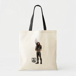 Tote Bag Ligue de justice | Aquaman sur le champ de