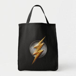 Tote Bag Ligue de justice   le symbole métallique