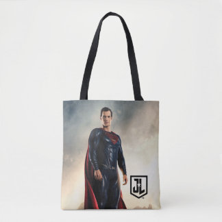 Tote Bag Ligue de justice | Superman sur le champ de