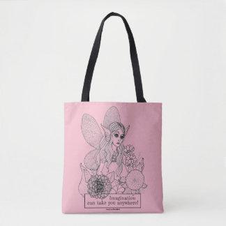 Tote Bag L'imagination peut vous prendre n'importe où !