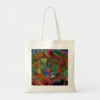 Tote Bag Lion abstrait