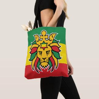 Tote Bag Lion de Rastafari Dreadlocks de Judah