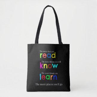 Tote Bag Lisez et apprenez