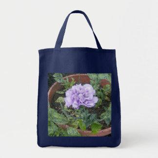 Tote Bag Lisiantha en pleine floraison