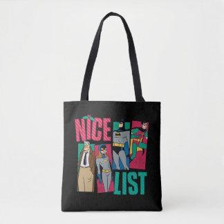 Tote Bag Liste de Batman | Père Noël Nice de héros