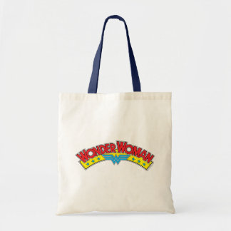 Tote Bag Logo 1987 de bande dessinée de femme de merveille