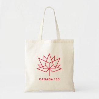 Tote Bag Logo de fonctionnaire du Canada 150 - contour