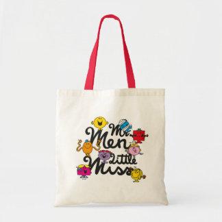 Tote Bag Logo de groupe de M. Men Little Mlle |
