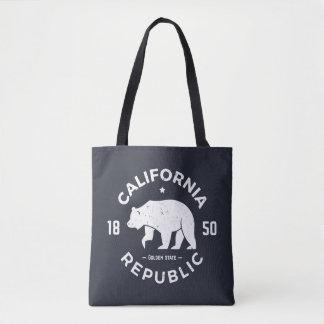 Tote Bag Logo | de la Californie le Golden State 2