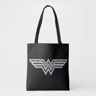 Tote Bag Logo de Paisley de femme de merveille