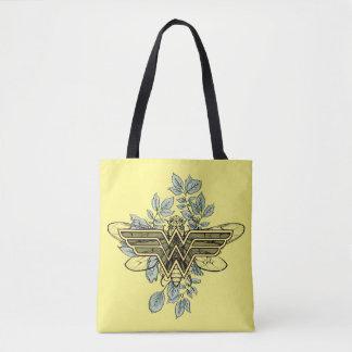 Tote Bag Logo de reine des abeilles de femme de merveille