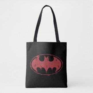 Tote Bag Logo de suintement de batte rouge de Batman |