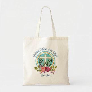 Tote Bag Logo floral fourre-tout de PWOC