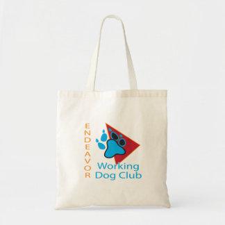 Tote Bag Logo Fourre-tout de club de chien d'utilité