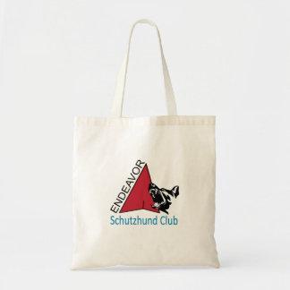Tote Bag Logo Fourre-tout de club de Schutzhund d'effort