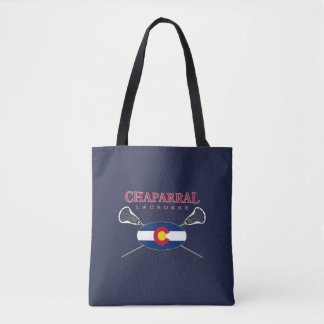 Tote Bag Logo Fourre-tout de drapeau de ChapLAX