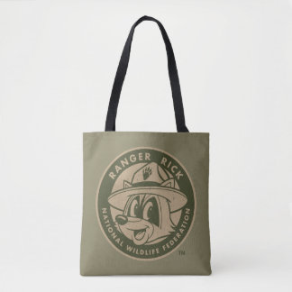 Tote Bag Logo kaki de Rick de garde forestière de Rick | de
