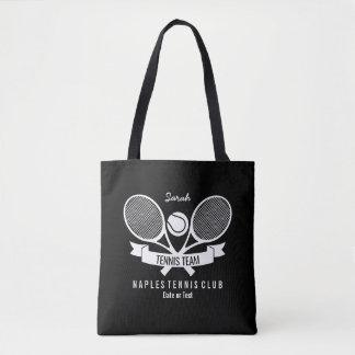 Tote Bag Logo noir fait sur commande personnalisé par boule