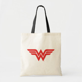 Tote Bag Logo rouge de femme de merveille