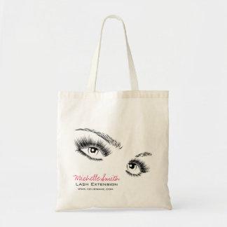 Tote Bag Longue extension de mèche de mèches de beaux yeux