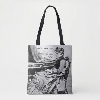Tote Bag Louisa peut Alcott affectueux de la photographie