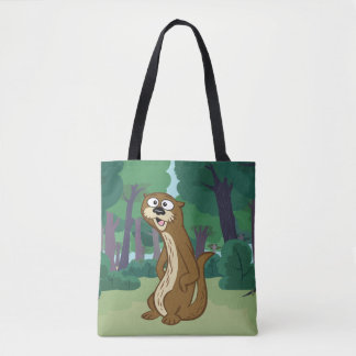 Tote Bag Loutre de Rick | Reggie de garde forestière