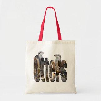 Tote Bag Loutres et logo de loutres,