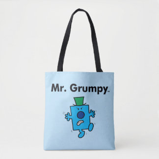 Tote Bag M. Grumpy de M. Men | est un bougon