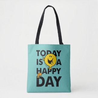 Tote Bag M. Happy | est aujourd'hui un jour heureux