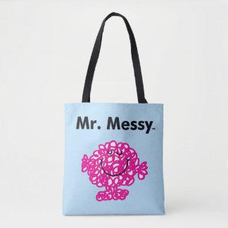 Tote Bag M. Messy Is Cute de M. Men |, mais malpropre