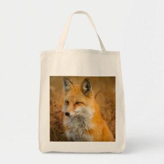 Tote Bag maculez le sac, renard fourre-tout, client de