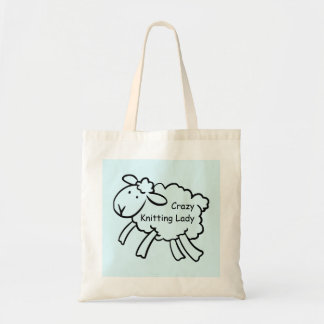 Tote Bag Madame folle Bag de tricot